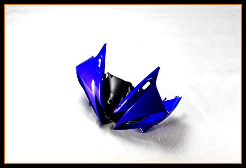Protek ABS Plastic Injection Mold Full Fairings Set Bodywork With Heat Shield Windscreen for 2006 2007 Yamaha YZF R6 Blue Black