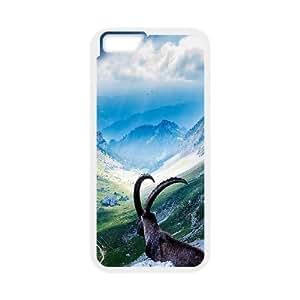 iPhone 6 Plus 5.5 Inch Cell Phone Case White Goat At Mount Pilatus Wrtgm