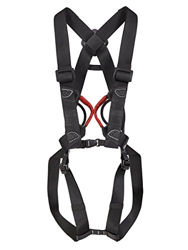 Stubai 998025 Mountain Sport Climbing Combination Harness for Ferrata Use