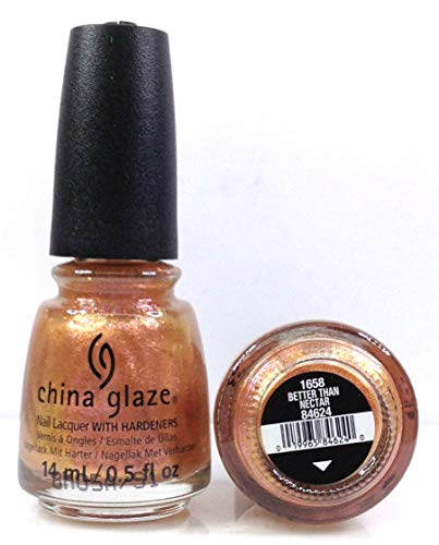 China Glaze Nail Care - China Glaze Nail Lacquer -The Arrangement Spring 2019 - Pick Color .5oz (1658 - Better Late Than Nectar)