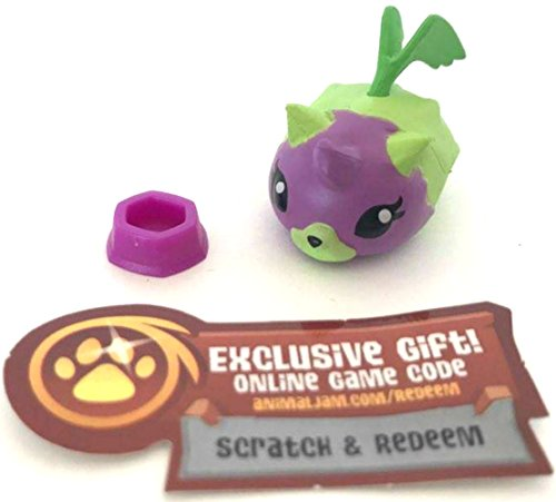 - Animal Jam Series 1 Purple and Green Hamster 1-82 and Unused Game Code