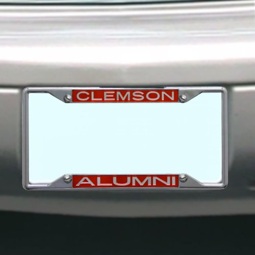 NCAA Clemson Tigers License Plate Frame Alumni ()