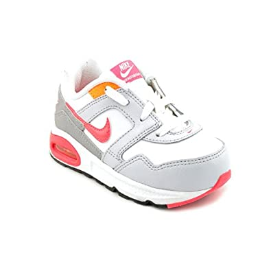 kswpo Nike Air Max Navigate (TD) Toddler Girls White Sneakers Shoes 4.5