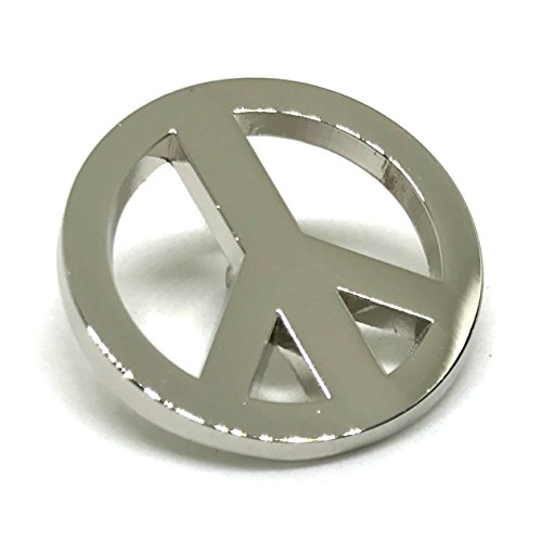 Peace Sign Symbol Lapel Pin