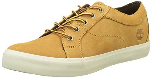 Basses Timberland Nubuck Femme Sneakers Oxfordwheat Marron Flannery wheat Nubuck qwwRp1