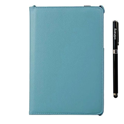 inShang Case for Samsung Galaxy Tab A 8.0 T350 - TABA T 350 8.0 inch Premium PU Leather Case cover stand - 360 degree rotating +1pc High end class business stylus Pen