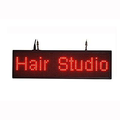 High Brightness Scroll Words LED Sign USB Flash Driver Upload