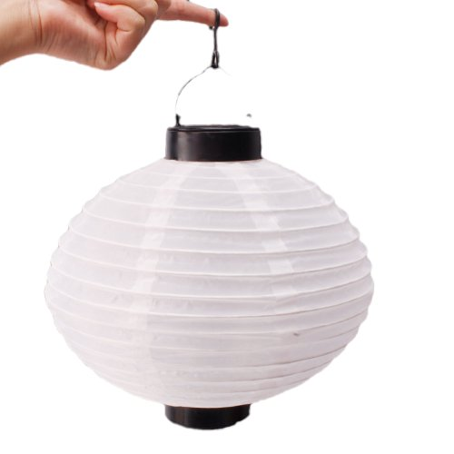 Outdoor Party Automatic Charging White Lantern Solar Power Light, Outdoor Stuffs