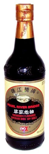 Pearl River Bridge Mushroom Flavored Superior Dark Soy ()