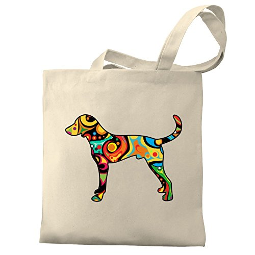 Bag Tote Psychedelic Psychedelic Tote Foxhound Eddany Canvas English English Bag Canvas Eddany Foxhound Eddany AOwB4