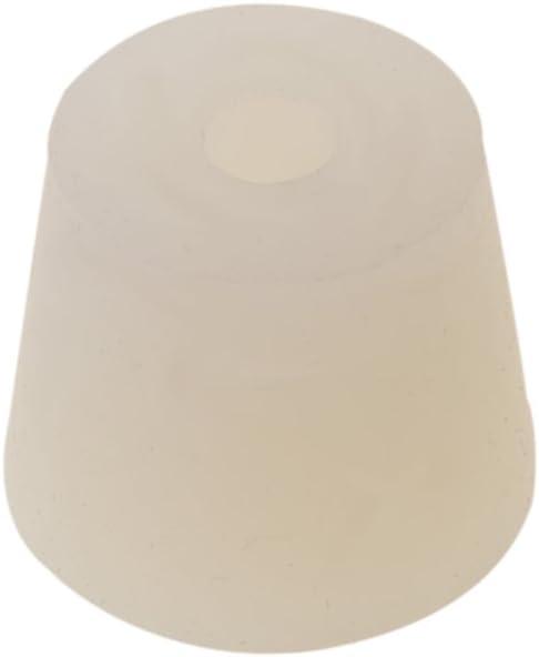 joyMerit エアロックバルブバブラー醸造ワインラバーストッパー#4用の穴付きシリコンプラグ