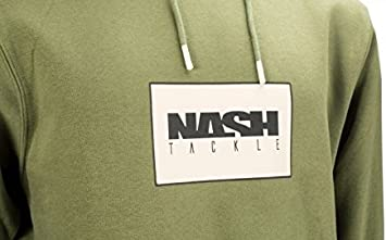 Nash Tackle Hoody Green XXXL Capuche 3xl Pull Vert Hoodie Hoodi New