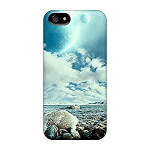 Top Quality Case Cover For Iphone 5/5s Case With Nice Full Moon Appearance