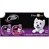 CESAR Wet Dog Food Classic Loaf in Sauce Filet Mignon & Porterhouse...