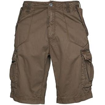 87826f5550 Onfire Mens Combat Shorts Khaki: Amazon.co.uk: Clothing