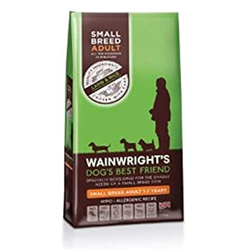 Wainwright S Adult Small Breed Complete Lamb And Rice 7 5kg A