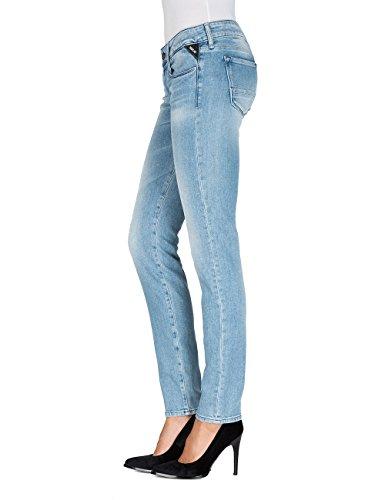 Rose Donna Jeans Denim blue Blu Slim Replay 11 6wdxqBUU