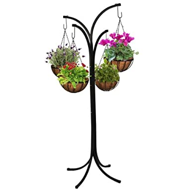 CobraCo 4-Arm Tree with 4 Hanging Baskets HB4T-A