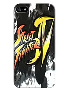 Blue pink phone iphone tpu cases for iphone5/5s(Street Fighter Iv) Fashion E-Mall