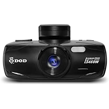 DOD TECH LS460W Sony Exmor Powered Full HD Dash Camera Dashcam with WDR Technology & GPS Logging (Black)