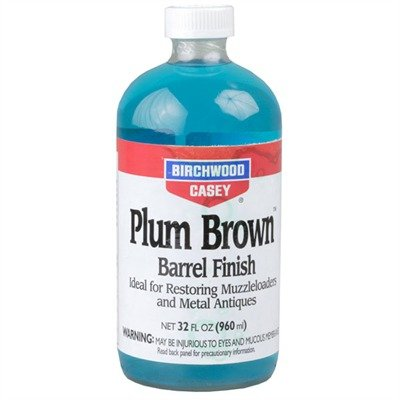 Birchwood Casey PB-QT Plum Brown Barrel Finish Liquid, 32-Ounce