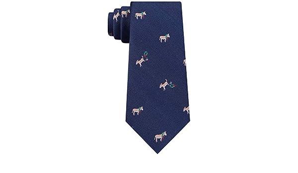 Tommy Hilfiger - Corbata de seda para hombre, diseño de burro ...