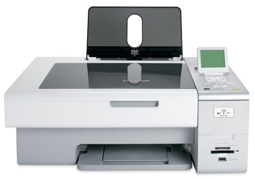 Lexmark X4850 Wireless 802.11g All-In-One Dual Cartridge Inkjet Printer (16Z0000) by Lexmark