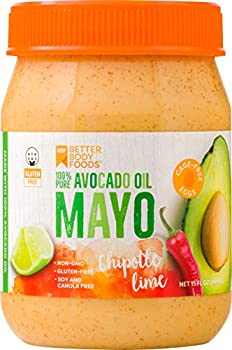 BetterBody Foods Avocado Oil Mayonnaise with Chipotle Lime, 15 oz
