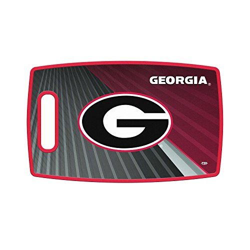 Sports Vault NCAA Georgia Bulldogs Large Cutting Board, 14.5