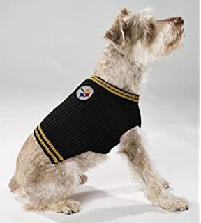 Pets First NFL Pittsburgh Steelers V-Neck Dog Sweater 10d742caf