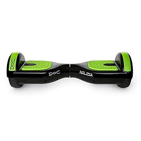 Nilox Doc Self Balance Scooter Eléctrico con Certificación ul 2272, Negro