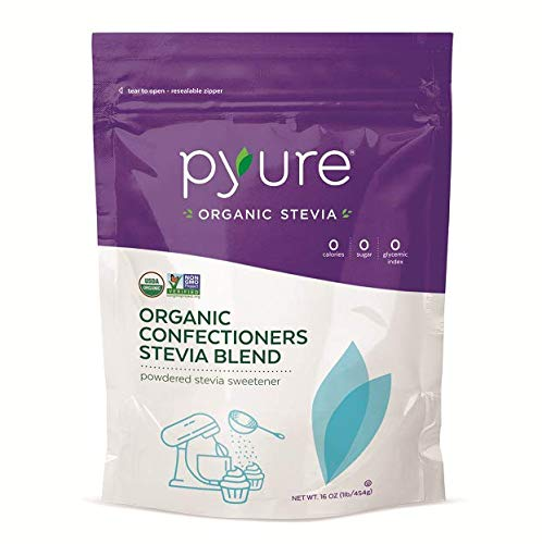 Pyure Organic Confectioners Stevia Blend, Powdered Sugar-free Sweetener, Keto, 16 oz by Pyure (Image #4)