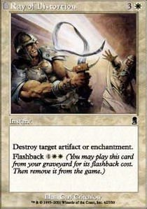 Magic: the Gathering - Ray of Distortion - Odyssey - Foil by Magic: the (Gathering Odyssey Foil)