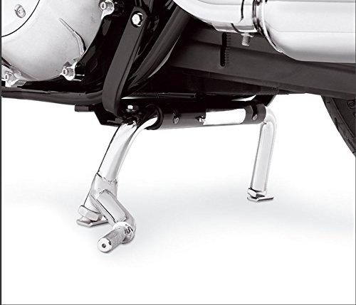 XKMT Heavey Duty Steel Adjustable Center Stand For Harley Electra Glide Road King Road Glide FLT FLH Touring Models 1998-2008