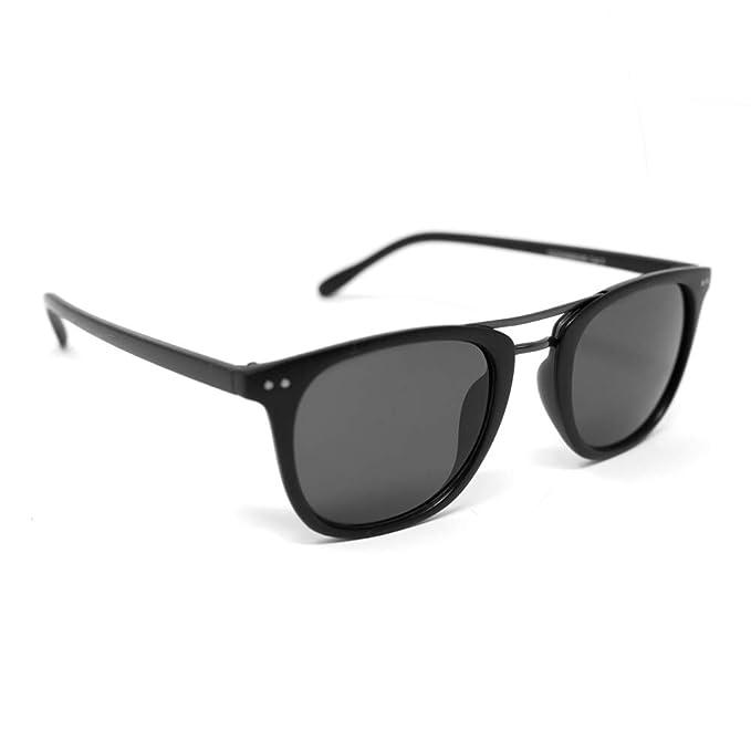 VIENTO Detective Gafas de Sol (Negro): Amazon.es: Ropa y ...