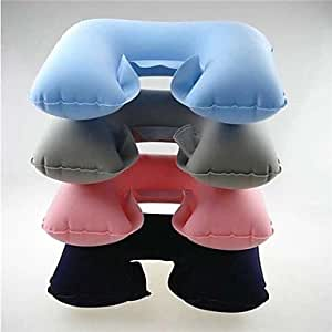 GDW almohada portátil, a proteger el cuello durante la conducción , Light Blue