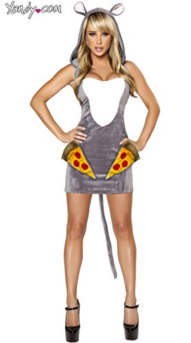Sexy Pizza Costume (Pizza Rat Costume, Sexy Rat Costume)