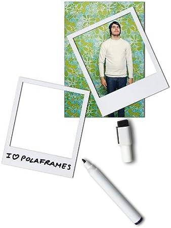 Doiy Polaframes - Pack de 6 marcos de foto con imán + 1 bolígrafo ...