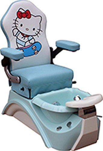 Kids Pedicure Chair BLUE KITTY Childs Pedicure Spa Nail Salon Furniture U0026  Equipment