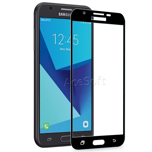 Premium Real Tempered Glass Screen Protector Film Samsung Galaxy J3 Prime 2017 Cell Phone Accessories