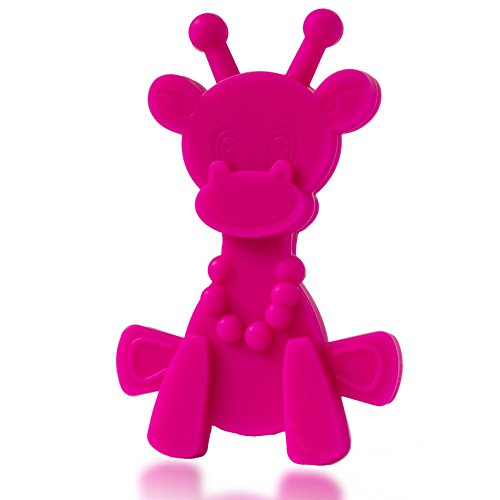 Baby Teething Toy Extraordinaire - Little bamBAM Giraffe Tee