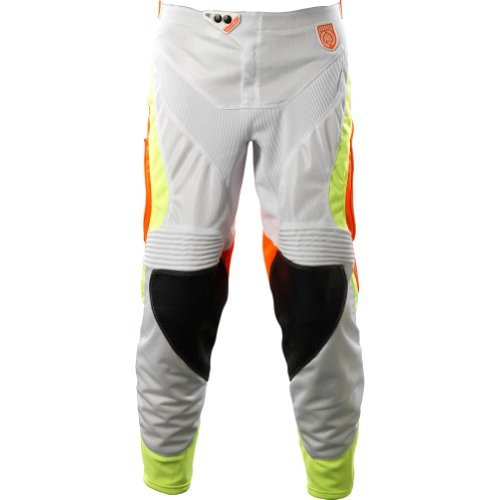 Troy Lee Designs SE Pro Corse Men's MotoX Motorcycle Pants - White/Orange / Size 32