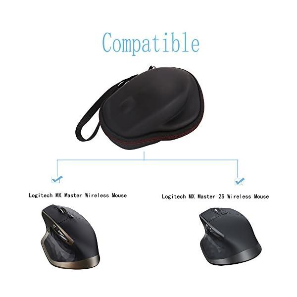 LTGEM EVA Hard Case pour Logitech MX Master/MX Master 2S Souris sans Fil Bluetooth