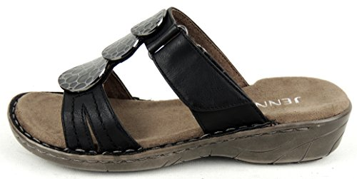 Jenny Women's 22-57285-71 0 Clogs Black vGhtjXPzJ