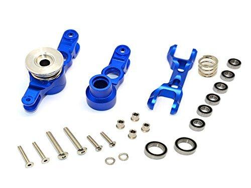 Traxxas X-Maxx 4X4 Tuning Teile Aluminium Steering Assembly - 1 Set Blau