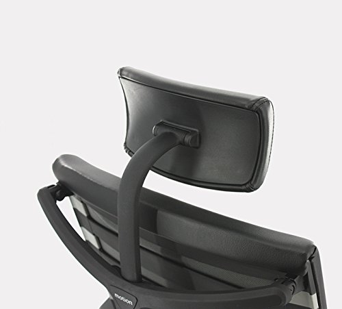 ApexDesk SK Series Ergonomic Leather High-Back Office Chair Adjustable Seat Height, Backrest and Armrest – Black by ApexDesk (Image #3)