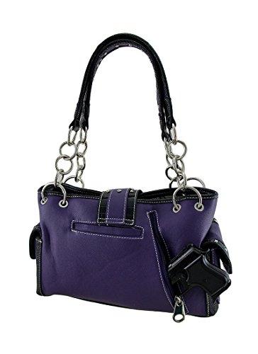 Unica Purple Taglia A Zeckos Spalla Borsa Donna XHH8Un