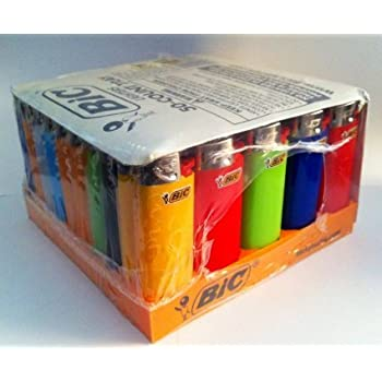Bic Mini Lighters 50ct Assorted Colors