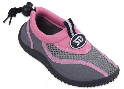 Starbay New Brand Kid's Pink & Gray Athletic Water Shoes Aqua Socks Size ()