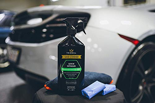 TriNova Clay Bar Kit - Auto Detailing Claybar for Car, Truck, SUV  Includes  Lubricant Cleaner and Microfiber Cloth  Best Accessories for Automobile
